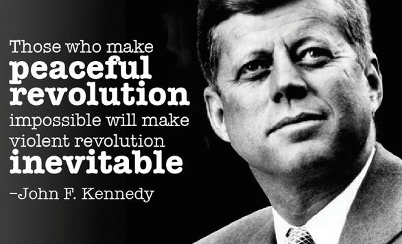 JFK on revolution.