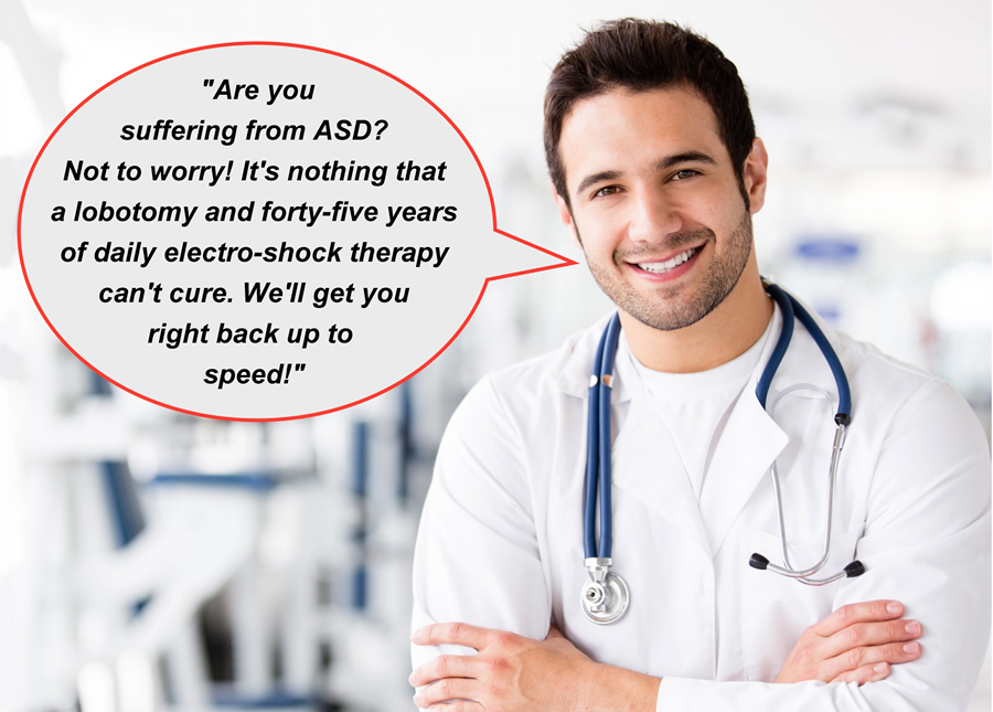 Suffering from ASD?