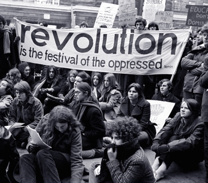 'Revolution is the festival of the oppressed.'